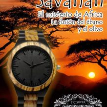 Savanah, el misterio de África, la fusión del ébano y el olivo
