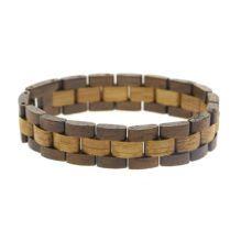 Pulsera de madera de Palisandro africano