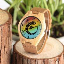 Geko, Reloj madera de bambú. Edición Especial Alvar Aldiel Mujer